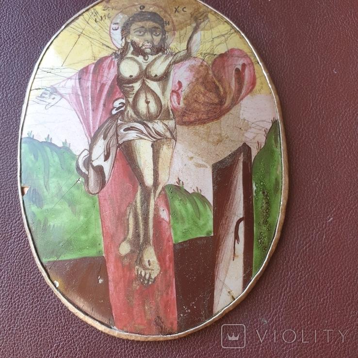 Финифть Исус Христос, фото №8