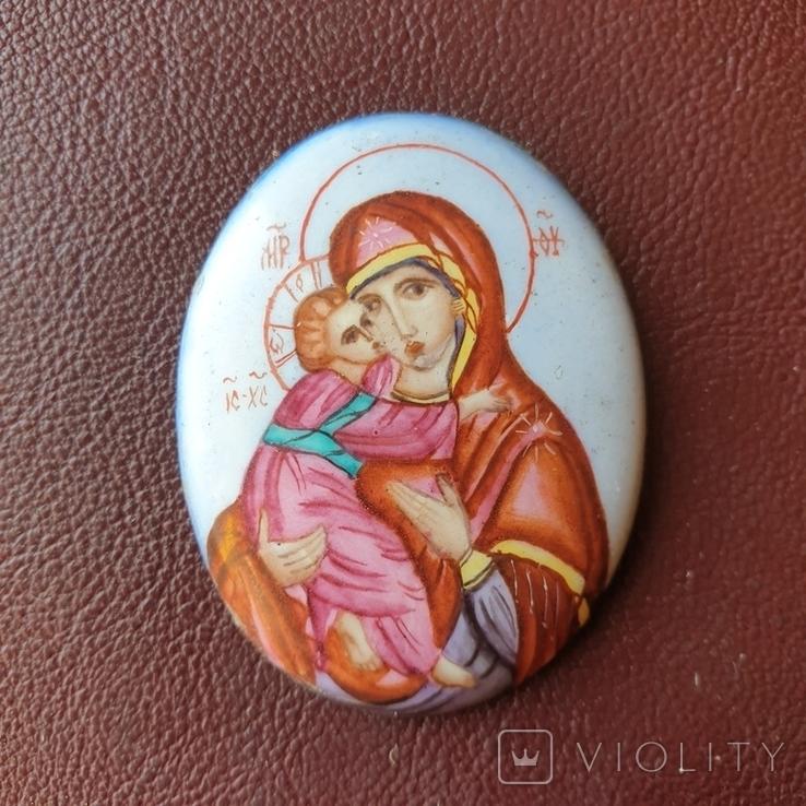 Финифть Богородица, фото №2