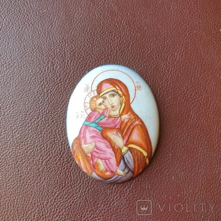 Финифть Богородица, фото №3