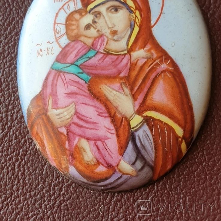 Финифть Богородица, фото №6