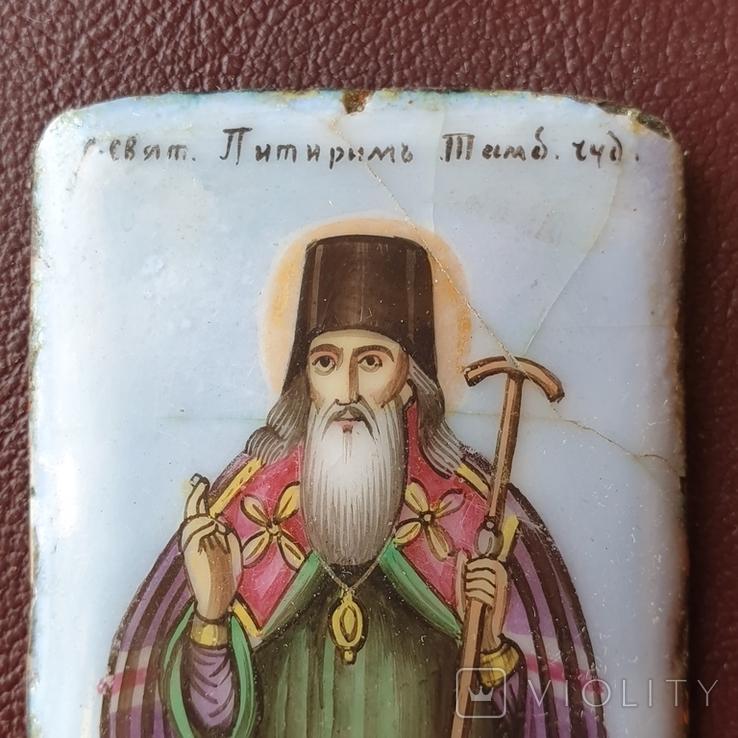 Финифть святитель Питирим Тамбовский, фото №4