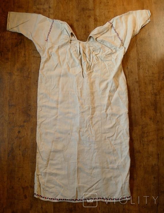 Старинная сорочка с вышивкой., фото №2