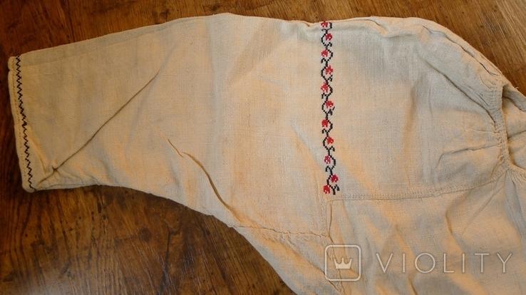 Старинная сорочка с вышивкой., фото №4