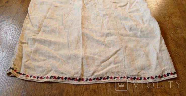 Старинная сорочка с вышивкой., фото №7