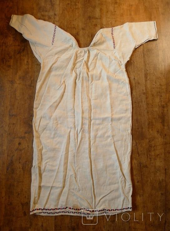 Старинная сорочка с вышивкой., фото №10