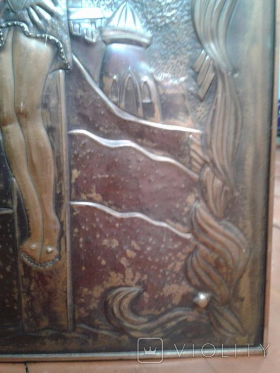 Икона Роспятие медная (57390.07 см), фото №10