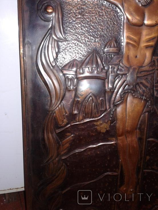 Икона Роспятие медная (57390.07 см), фото №12