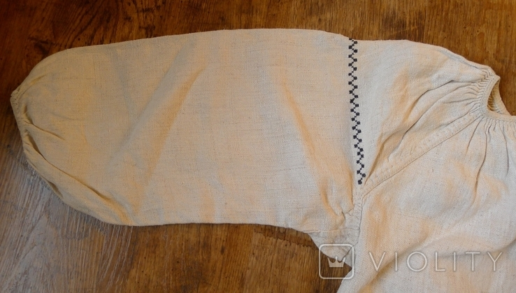 Старинная сорочка с вышивкой. № 2 ., фото №4