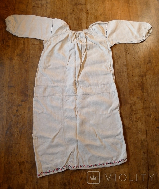 Старинная сорочка с вышивкой. № 2 ., фото №12