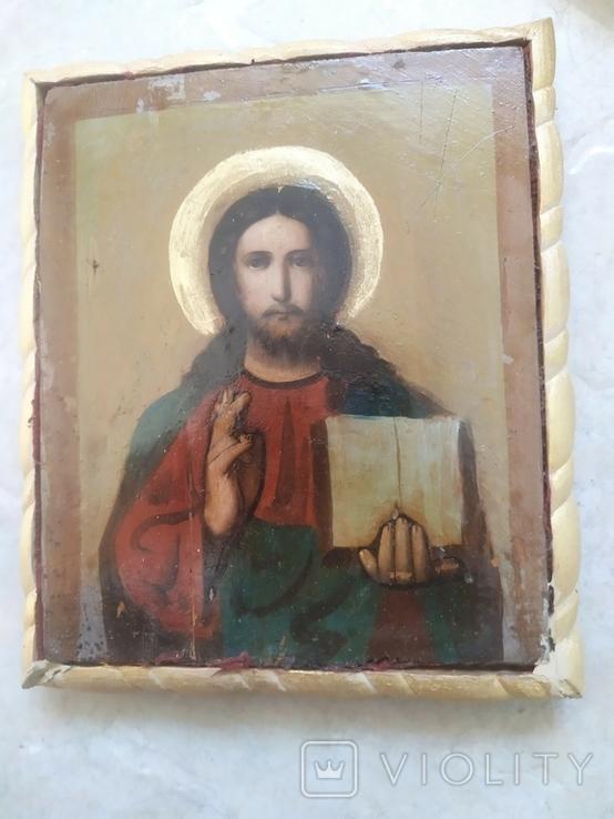 Вседержитель Икона в киоте, фото №4