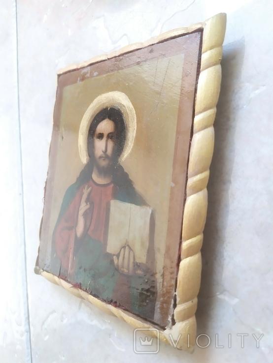 Вседержитель Икона в киоте, фото №7