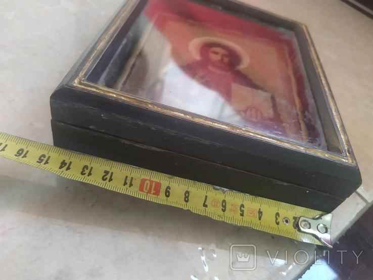 Вседержитель Икона в киоте, фото №12