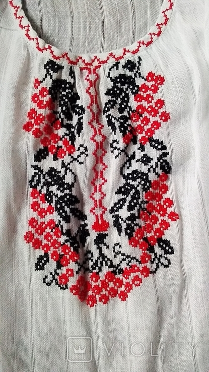 Вышиванка крестиком короткая., фото №4