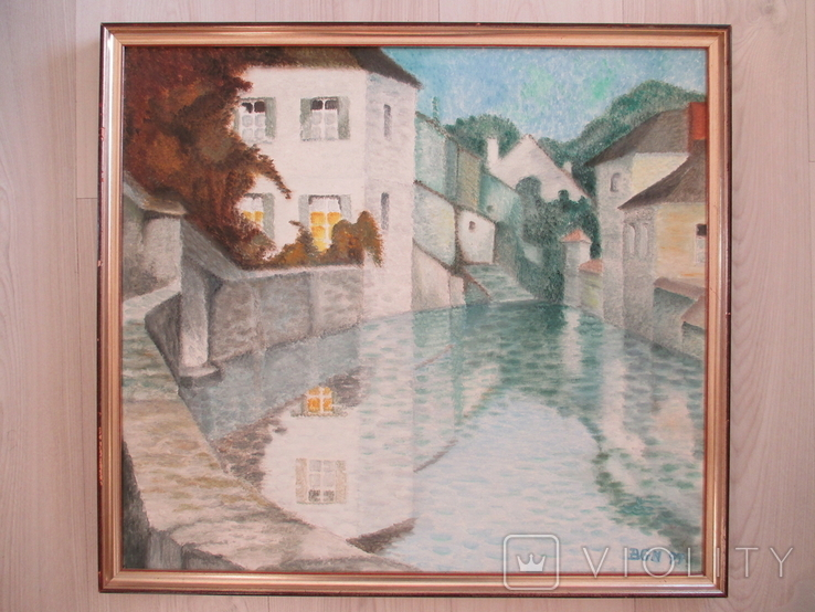 Картина * Город на воде *, фото №2