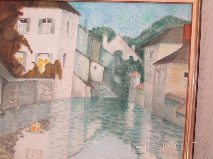 Картина * Город на воде *, фото №4