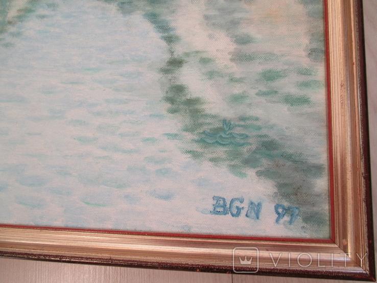 Картина * Город на воде *, фото №5