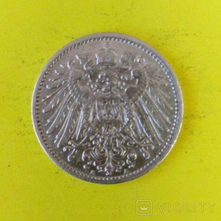 1 Марка 1910р. Срібло., фото №3