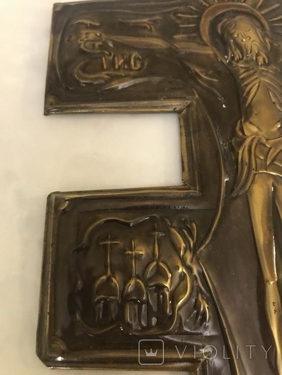 Чеканка православный крест, фото №6