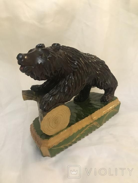 Медведь дерево, фото №2
