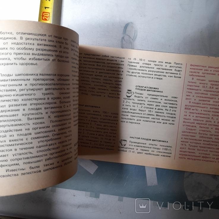 """Кощеев """"Нипитки из дикорастущих ягод и грибов"""" 1991р., фото №6"""