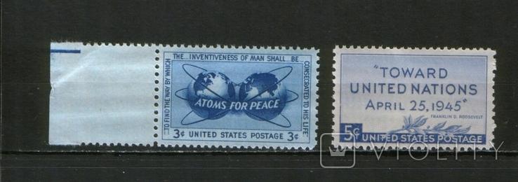 1940-48 США Вторая Мировая война, лот 9 шт., фото №3