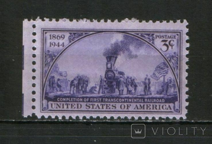 1944 США Трансконтинентальная железная дорога