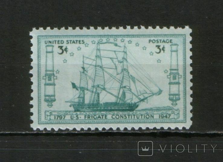 """1947 США Корабли, фрегат """"Конституция"""""""