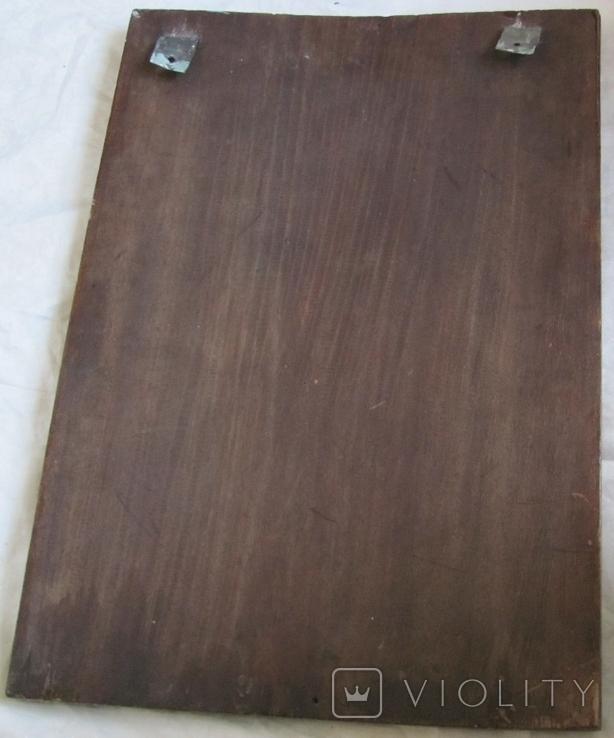 Св. Николай , размер 61.5 см х 44 см х 2.8 см - большая., фото №4