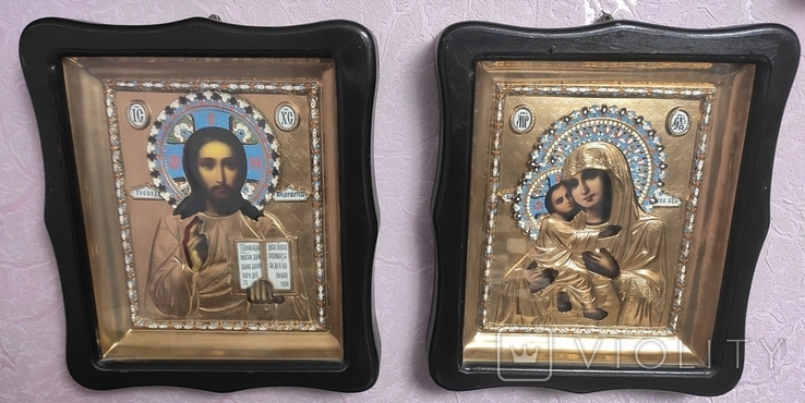 Иконы Владимирская Б.М. Иисус Вседержитель., фото №2