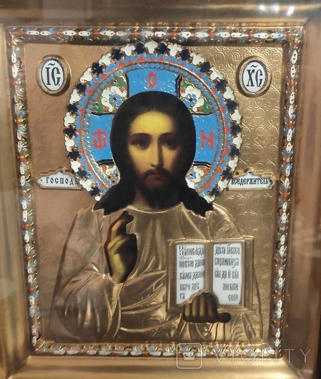 Иконы Владимирская Б.М. Иисус Вседержитель., фото №5