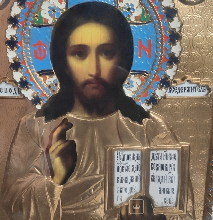 Иконы Владимирская Б.М. Иисус Вседержитель., фото №6