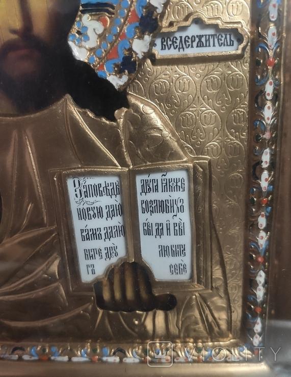 Иконы Владимирская Б.М. Иисус Вседержитель., фото №7