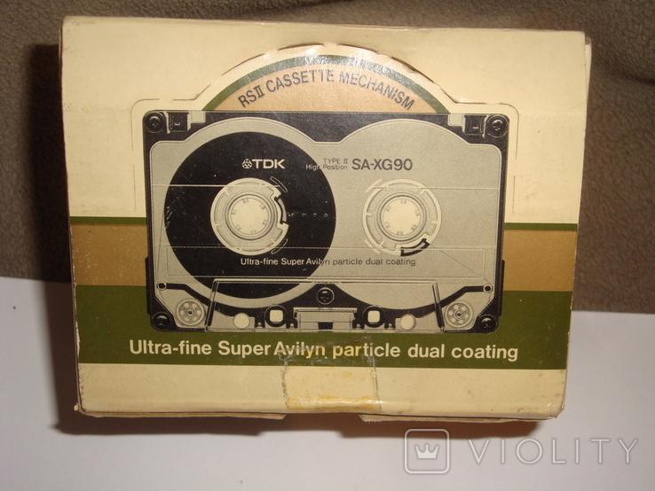Коробка от кассет TDK SA -XG90, фото №2