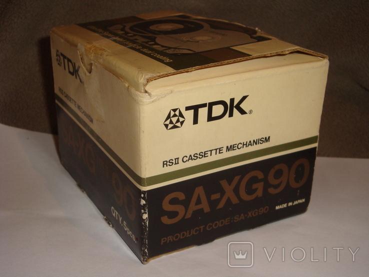 Коробка от кассет TDK SA -XG90, фото №4