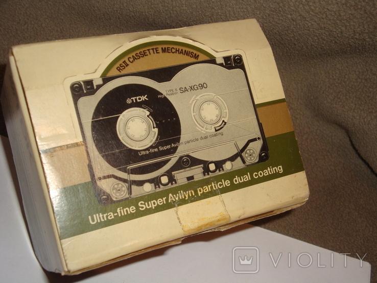 Коробка от кассет TDK SA -XG90, фото №9