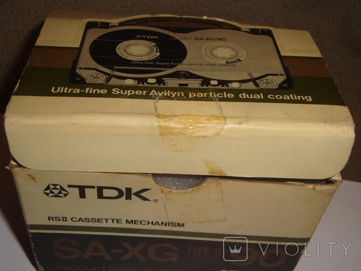Коробка от кассет TDK SA -XG90, фото №10