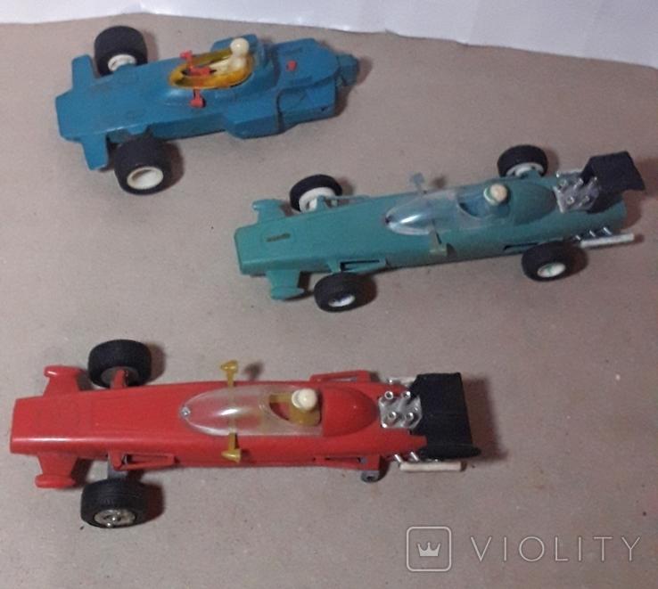 3 шт. гоночные машинки СССР на реставрацию, фото №4