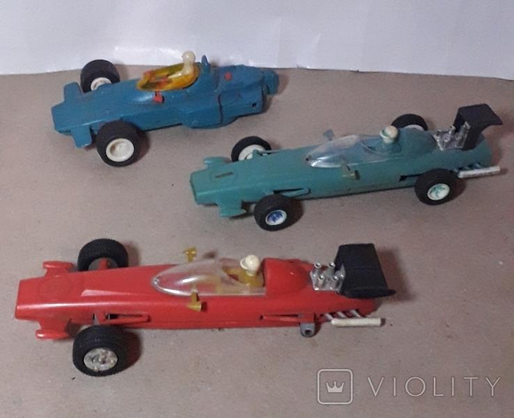 3 шт. гоночные машинки СССР на реставрацию, фото №5