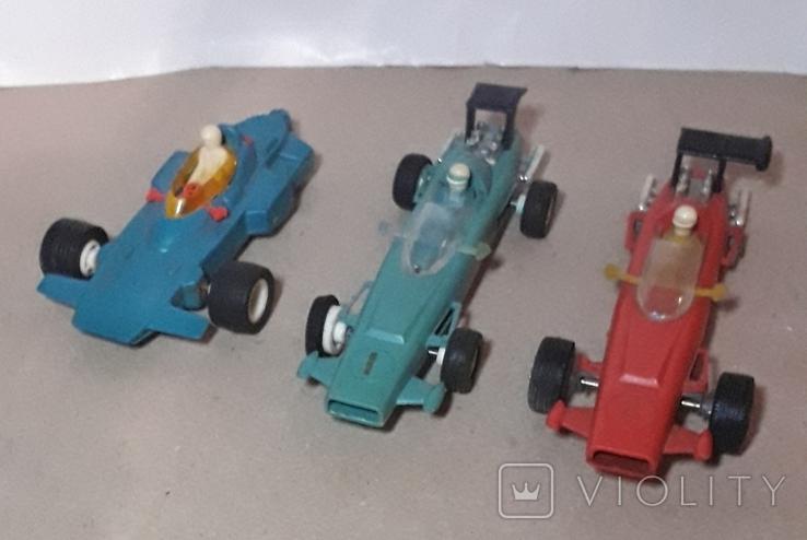 3 шт. гоночные машинки СССР на реставрацию, фото №2