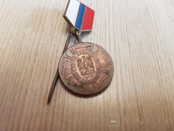 """Фрачник медали """"Лига защиты страны"""" в бронзе, фото №4"""