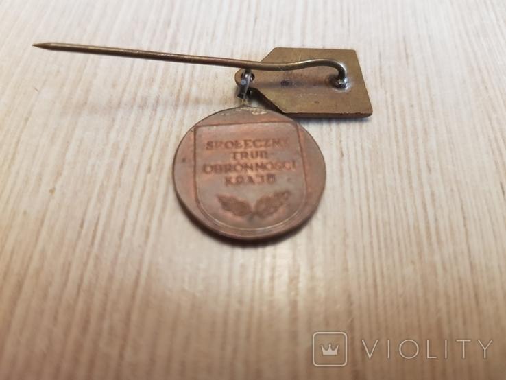 """Фрачник медали """"Лига защиты страны"""" в бронзе, фото №5"""