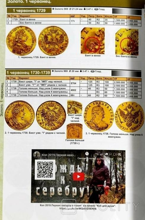 Каталог монет России 1682-1917 годов. CoinsMoscow, 4-й выпуск, 2020 год, фото №7