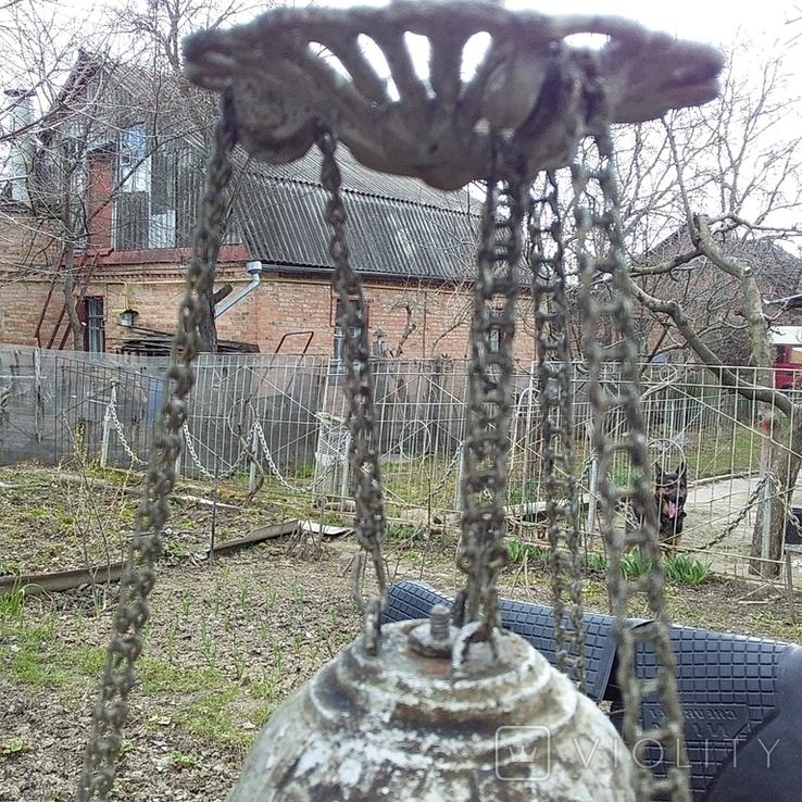 Подвесная керосиновая лампа, фото №10