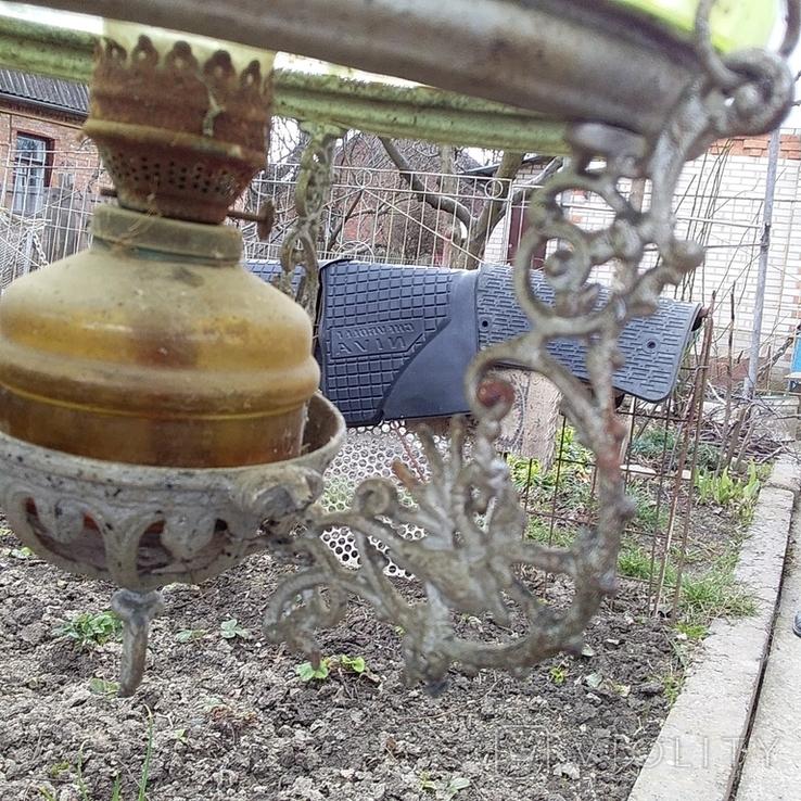 Подвесная керосиновая лампа, фото №11