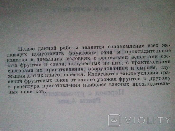 Фруктовые соки и прохладительные напитки домашнего приготовления., фото №4