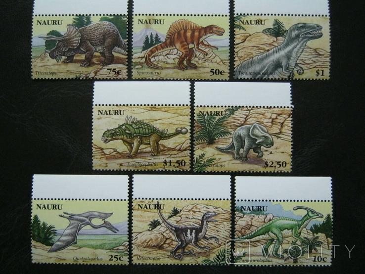 Фауна дино динозавры науру на кр 13.03.21
