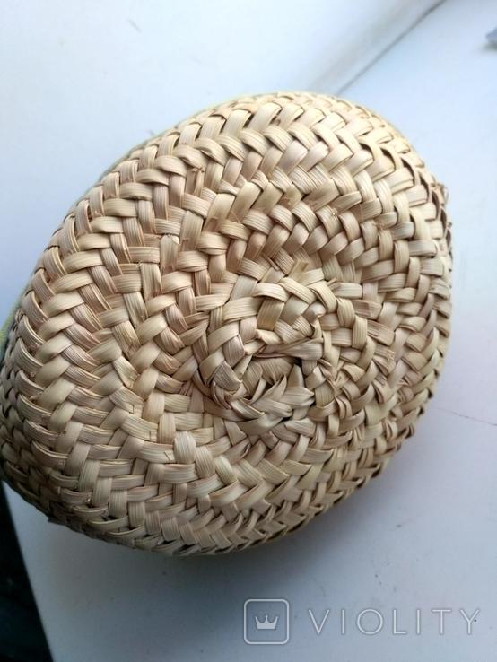 Эко-сумка плетёная, и натуральной кожи., фото №8