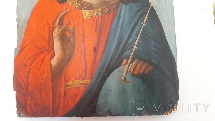 Старинная икона.Иисус Христос., фото №11