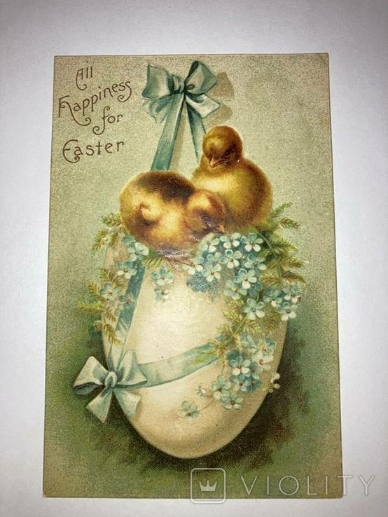 Пасхальная открытка. Германия до 1945 г., фото №2