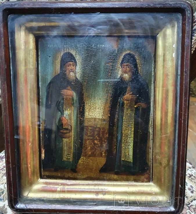 "Икона ""Зосим и Саватий "", фото №2"